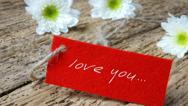 Love background with love you miss you message
