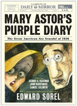 Mary Astor's Purple Diary by Edward Sorel