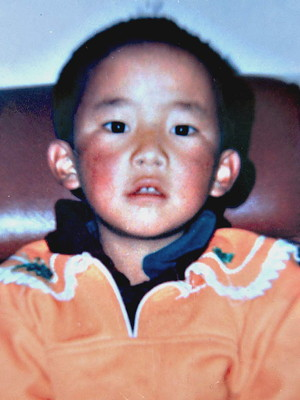 The 11th Panchen Lama Gedhun Choekyi Nyima