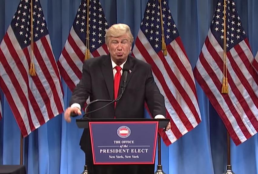 Alec Baldwin Impersonating Donald Trump